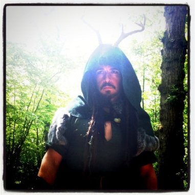 """Seán George as The Horned God in """"The Spirit of Albion: the Movie"""""""