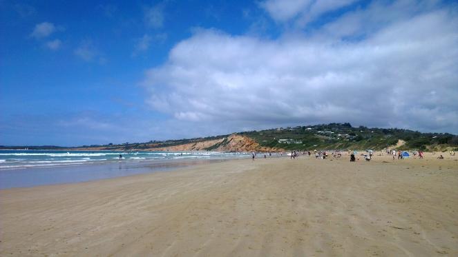 Anglesea Beach, Victoria, Australia 2014.