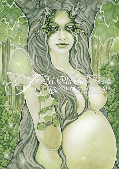 """Growth - Embrace the Feminine"" by Ravynne Phelan"