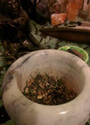 hernes incense blend