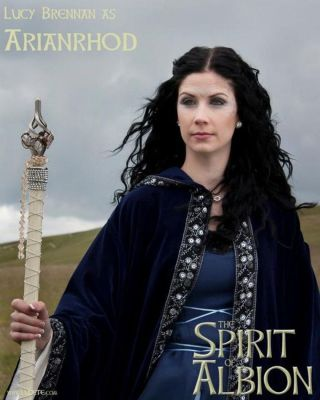 Lucy Brennan as Arianrhod, in 'Spirit of Albion: The Movie'