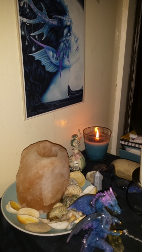 My Water Altar, 2015. Source: Ooh Chiara @ Book of Eucalypt.