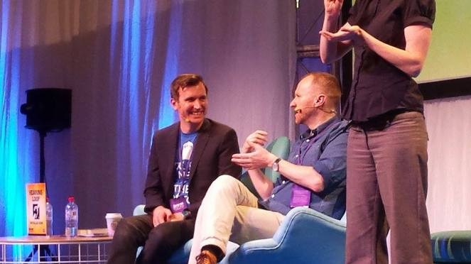 Mark Gatiss at the Doctor Who Festival, Sydney, November 21, 2015